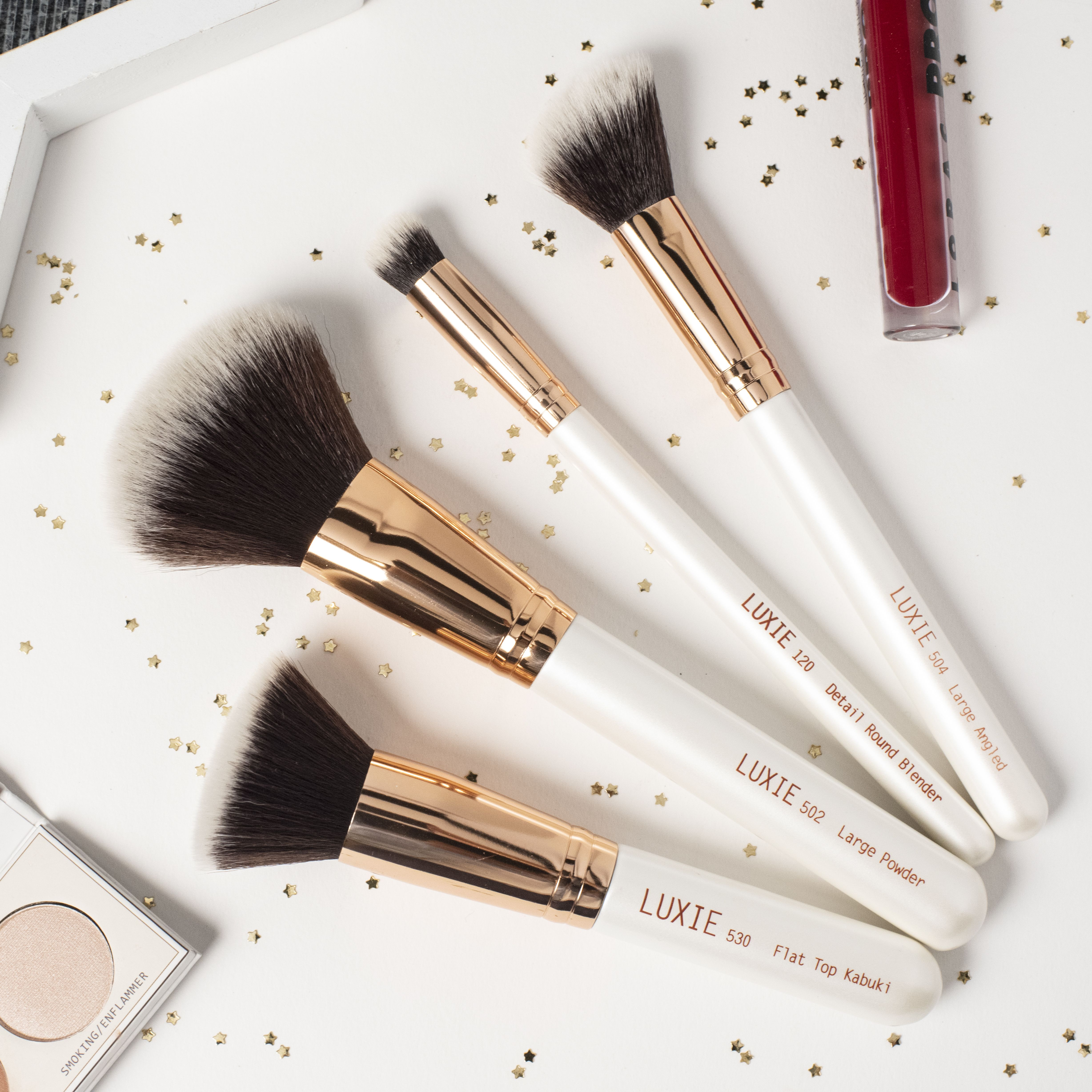 LUXIE Flawless Face Brush Set Face brush set, Flawless