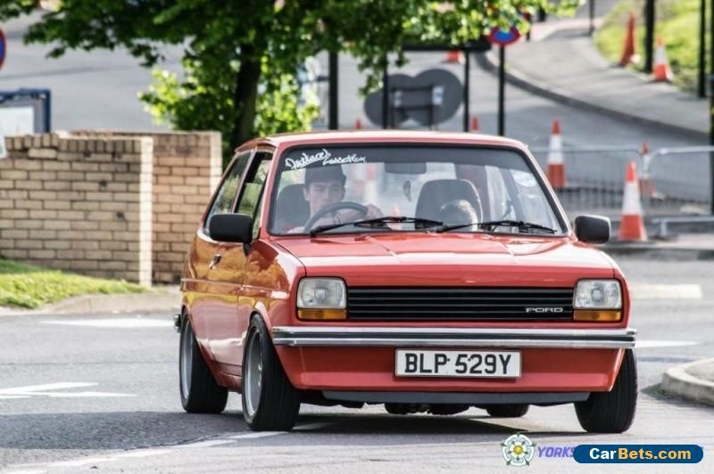 Car For Sale Mk1 Ford Fiesta Retro Stance Classic Modified Ford