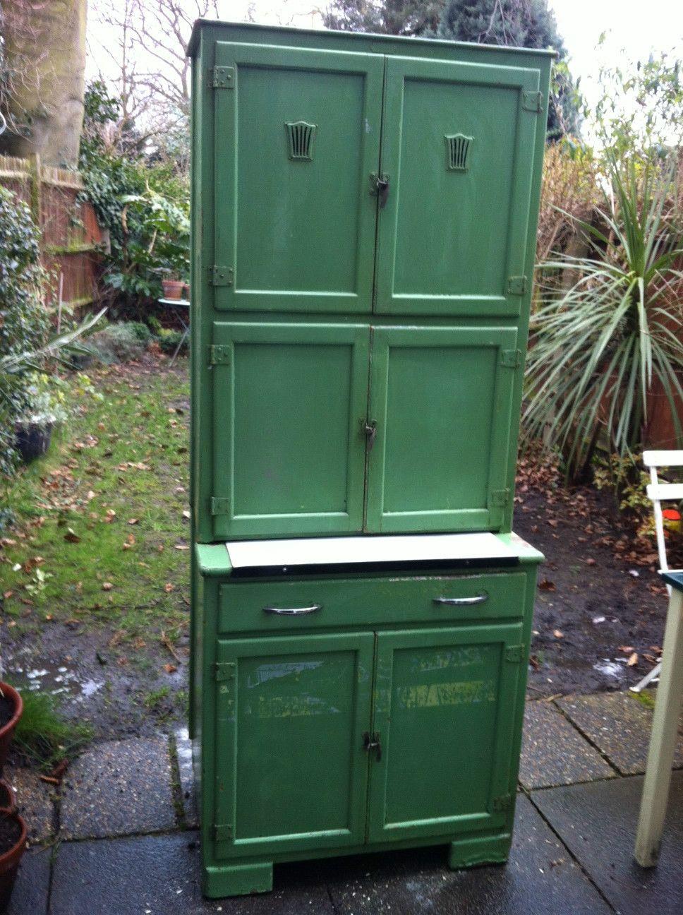 Vintage kitchen cabinet | eBay | Vintage kitchen cabinets ...