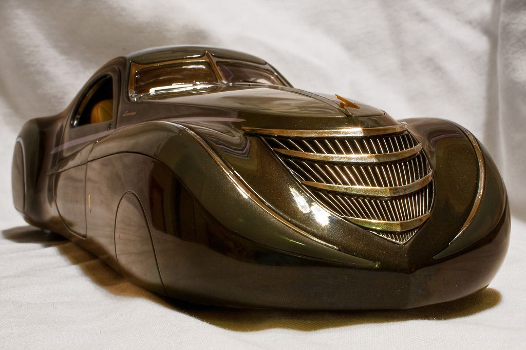 The Strange Case Of The Midnight Ghost Art Deco Car Classic