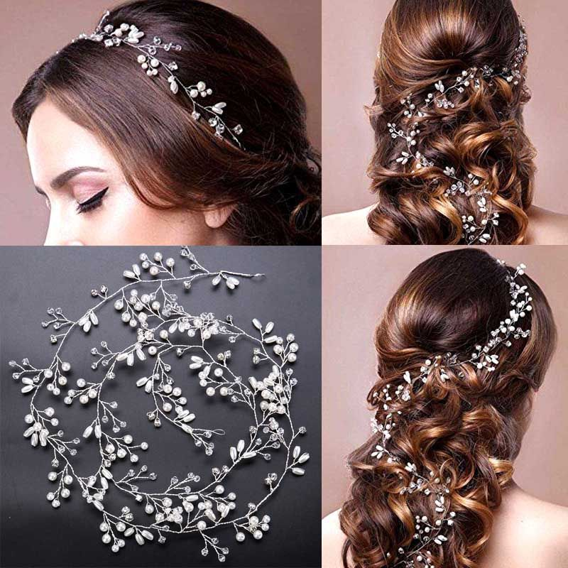 Cheap Head Chain Buy Quality Bride Head Directly From China Accessories Bride Suppliers Lu Luxury Hair Accessories Hair Vine Wedding Wedding Hair Accessories
