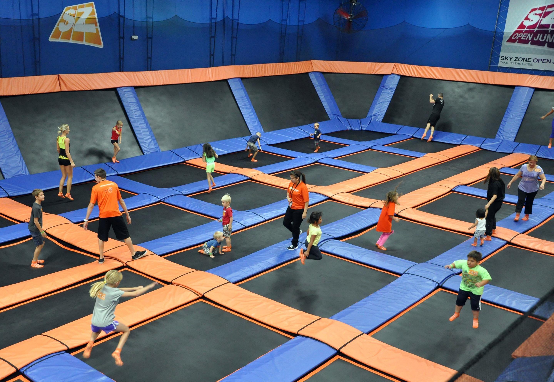 Sky Zone Indoor Trampoline Park Las Vegas Celebrates Grand Opening