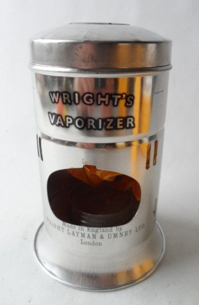 Wrights Vaporizer 1970s Woke Up Sick And Thought Of This