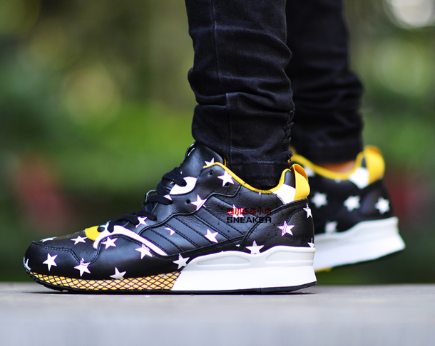 80a7aa0973b31 ADIDAS ORIGINALS ZXZ 930 YELLOW BLACK WHITE STARS B25057 adidas   adidaszxflux  adidasstars  stars  whiteyellow  yellow  white   adidasoriginals  ad  ...