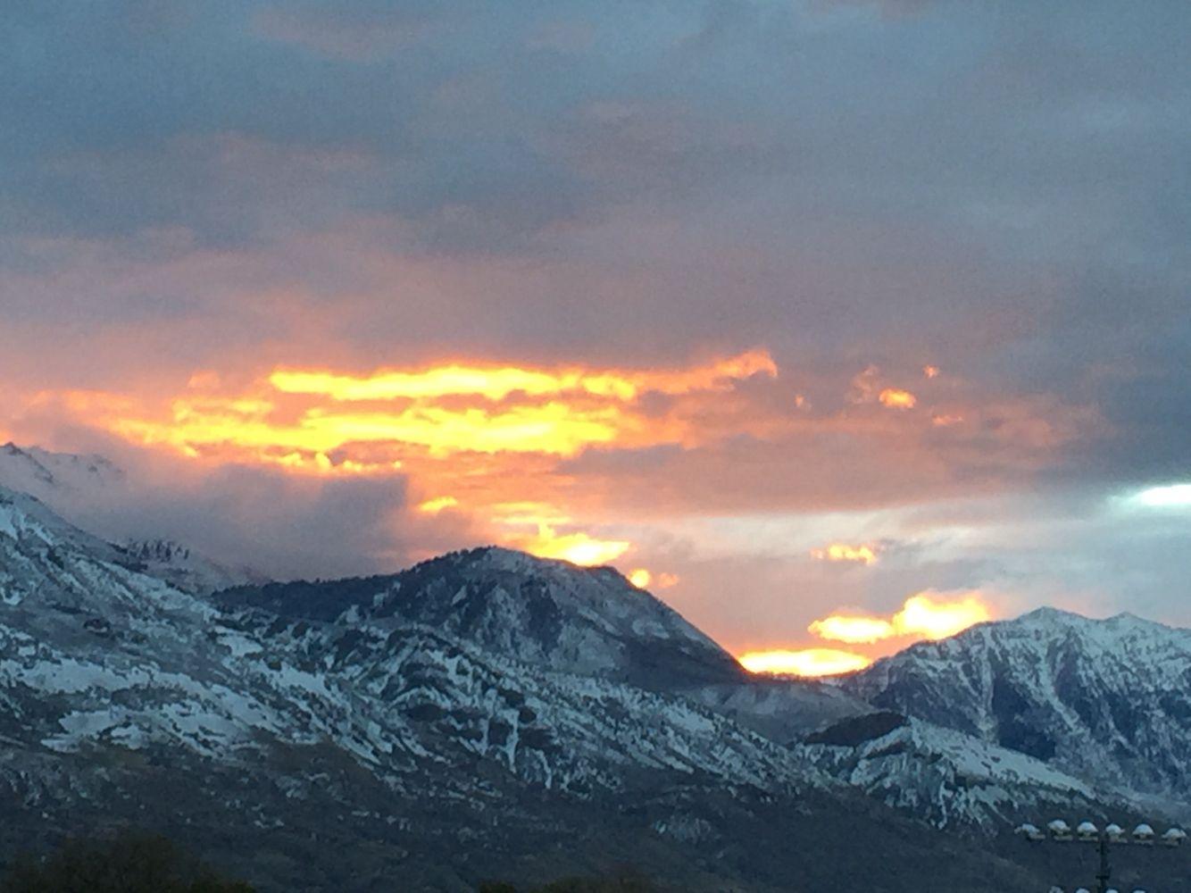 Sunrise from Draper