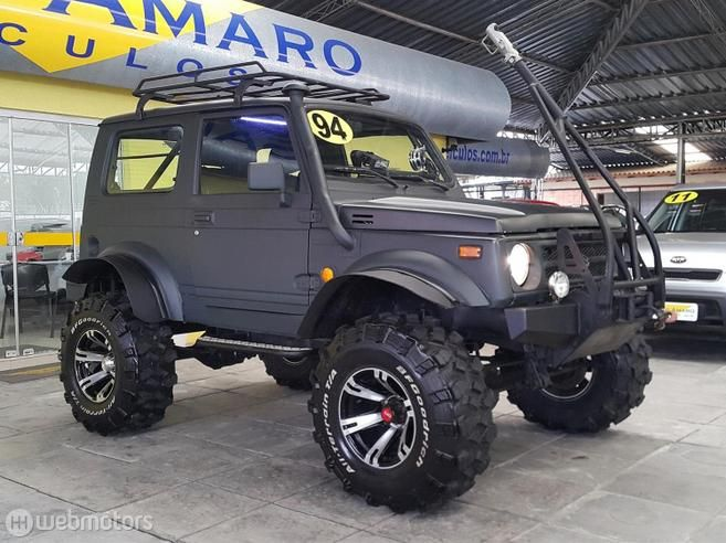 Suzuki Samurai 1 3 Jx Metal Top 4x4 16v Gasolina 2p Manual Mobil