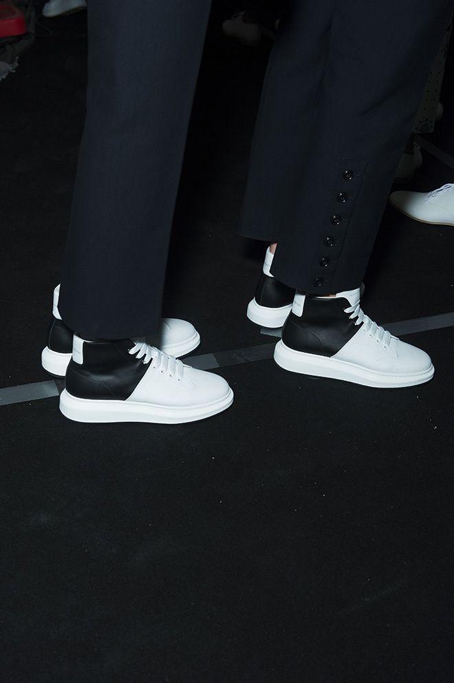 Alexander Mcqueen Shoes Homme Rouge
