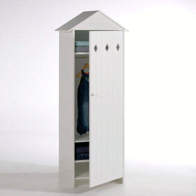 Armoire 1 porte en MDF laqué, Noa | La Redoute Mobile | Chambre ...