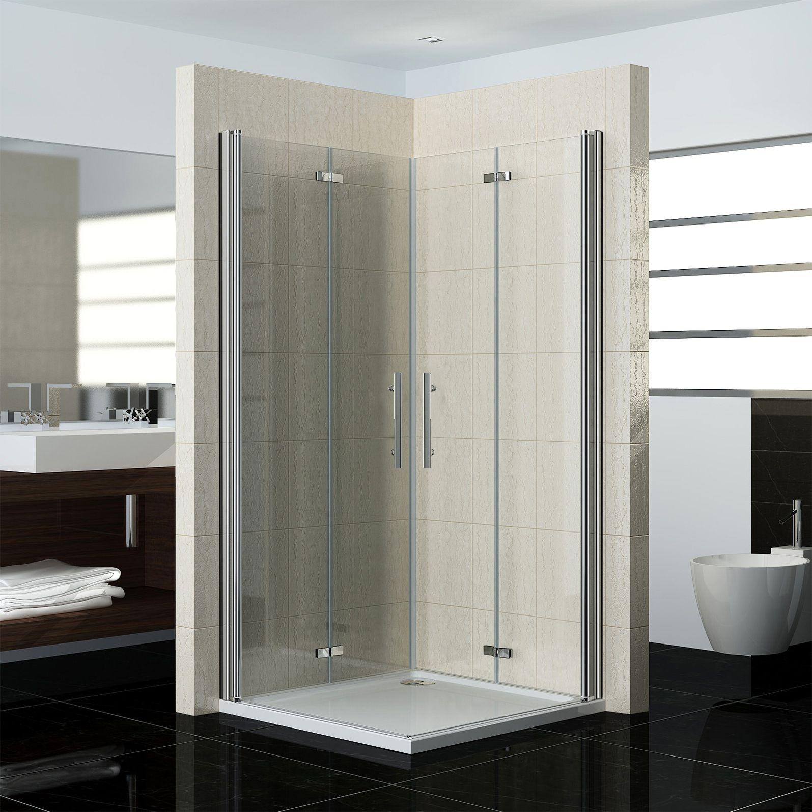 Duschabtrennung Duschkabine 180 Schwingtur Duschwand Dusche