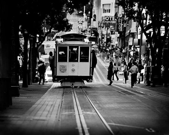 San Francisco Black And White Photos