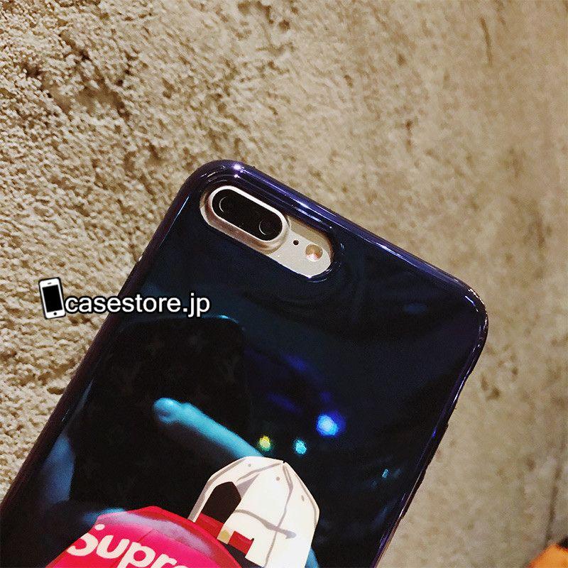 32765dcf15 ヒップホップおしゃれアイフォンxケース コラボ シュプリームSupreme光沢ある面白いカップル向けiPhone8/