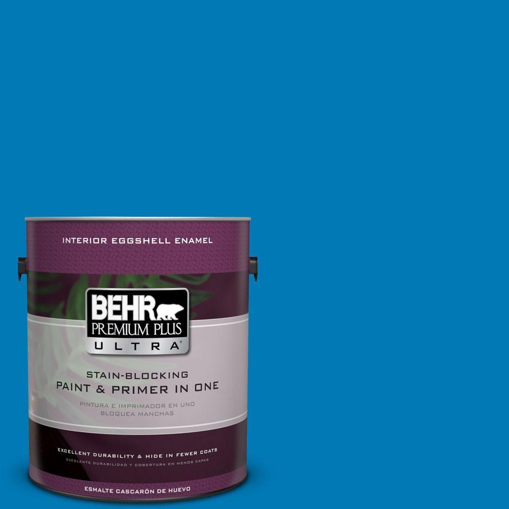BEHR Premium Plus Ultra 1-gal. #P500-6 Deep River Eggshell Enamel Interior Paint