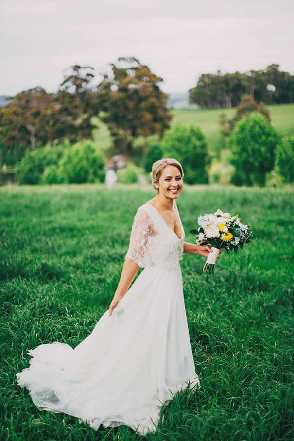 Claire Was Wearing Our Beaded Lace And Tulle Gown Dress Daalarna Via Hope X Page Sydney AU
