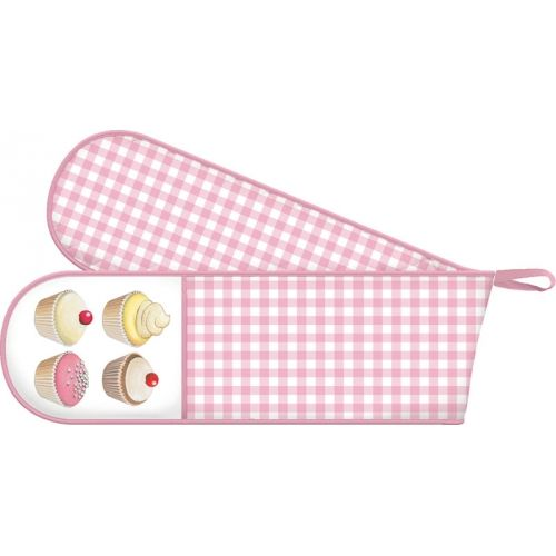 Iced Fancies Cup Cakes Double Oven Glove