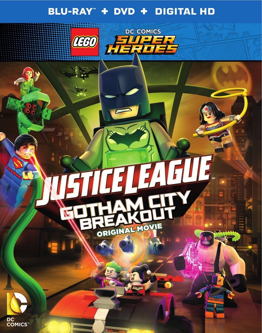 "April 14 2016: LEGO ""Justice League: Gotham City Breakout"" Animated Movie"