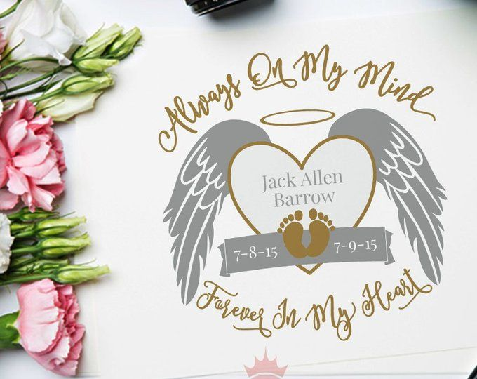 Download Angel Wings, Svg Files for Cricut, In Memory of, Loved ...