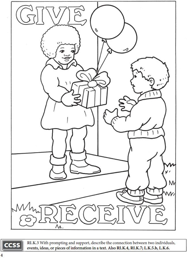 BOOST Fun with Opposites Coloring Book Dover Publications ... | coloring worksheet for toddlers
