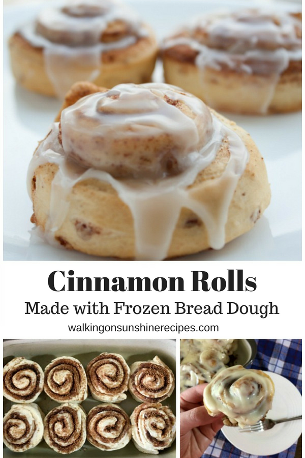 How To Make Easy Cinnamon Rolls Using Frozen Bread Dough Recipe