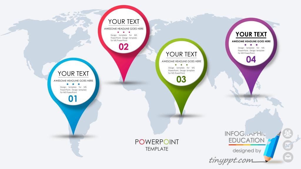 Free Business Roadmap Powerpoint Template Powerpoint Templates Powerpoint Free Social Media Templates