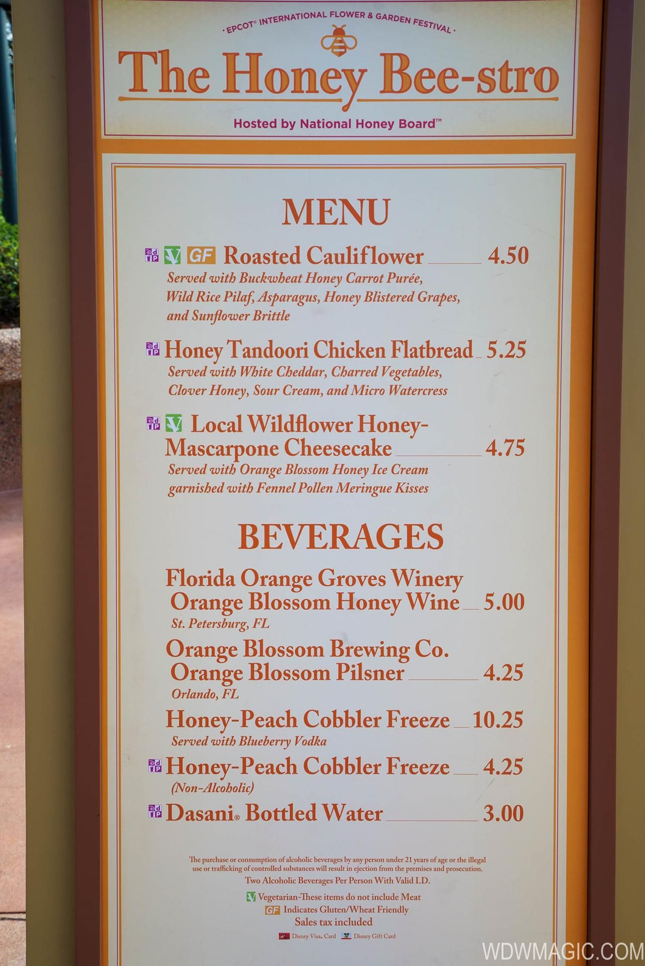 2018 epcot flower and garden festival outdoor kitchen kiosks - the