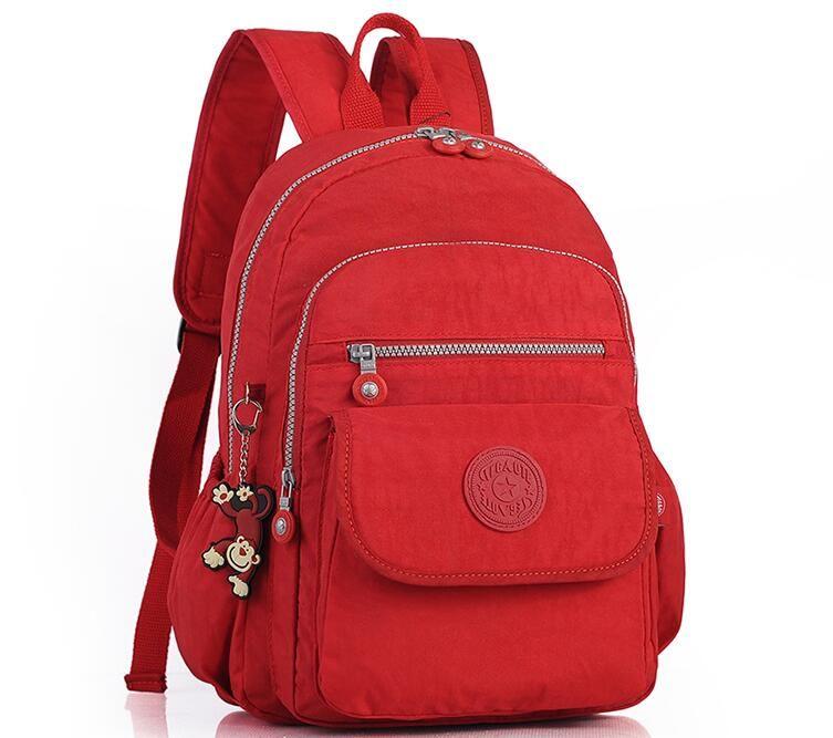TEGAOTE Women Backpacks For Teenage Girls Nylon Backpack Female Striped Feminine  Backpack School Bagpack Mochila Feminina Bag. Yesterday s price  US  189.99  ... 78749c2d6202e