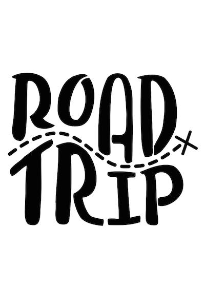 Image Result For Road Trip Logo Black And White Roadtrip Ausflug Fotobuch