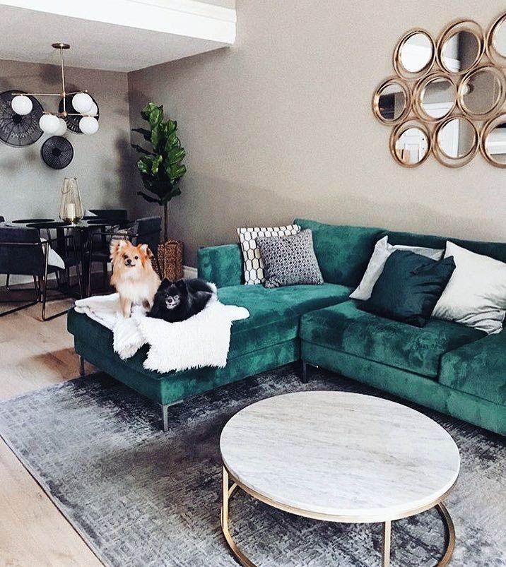 Pin On Green Living Room