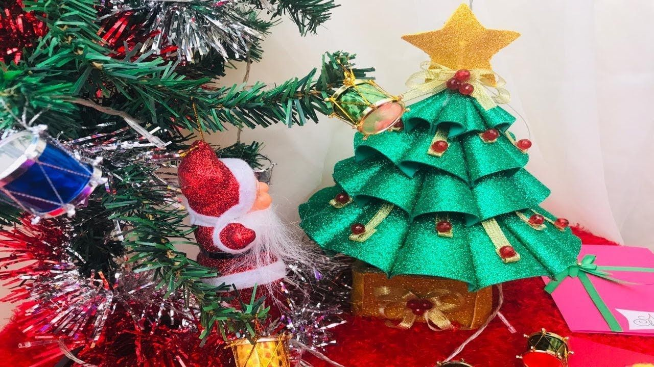 يالا بينا نعمل شجره كريسماس بالفوم Diy Christmas Ornaments Holiday Decor Novelty Christmas