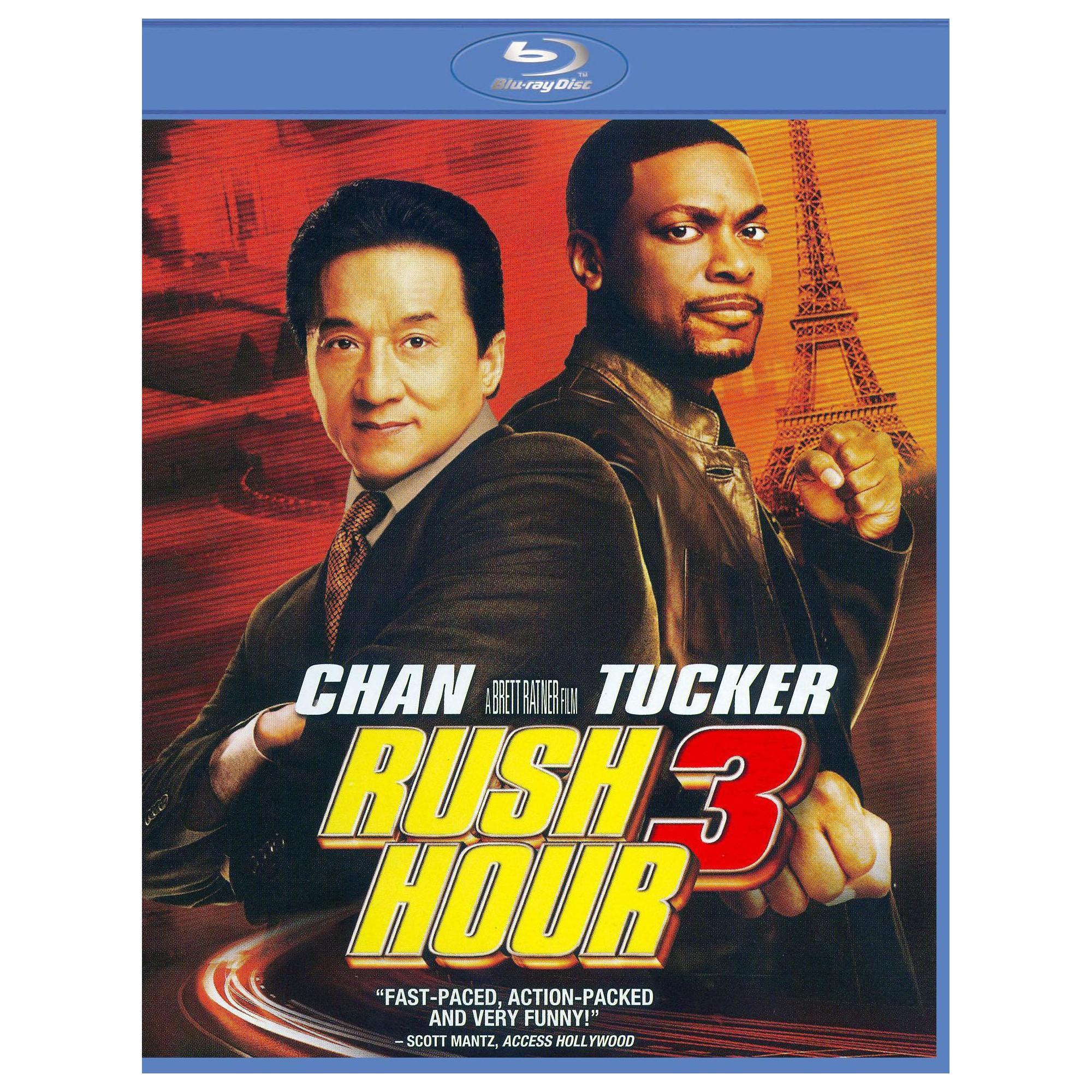Rush Hour 3 Blu Ray In 2021 Rush Hour 3 Rush Hour Full Movies Online Free