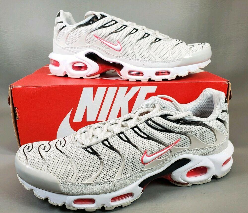 heißer verkauf 42 Herren Nike Air Max Plus Weiß 852630 105