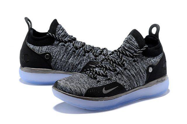 Nike KD Trey 11 women's Basketball Shoes WhiteIce blue