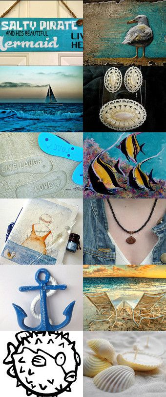 Summer Surprises at the Beach ~ Promoting Women Team Treasury by Marcia on Etsy--Pinned with TreasuryPin.com