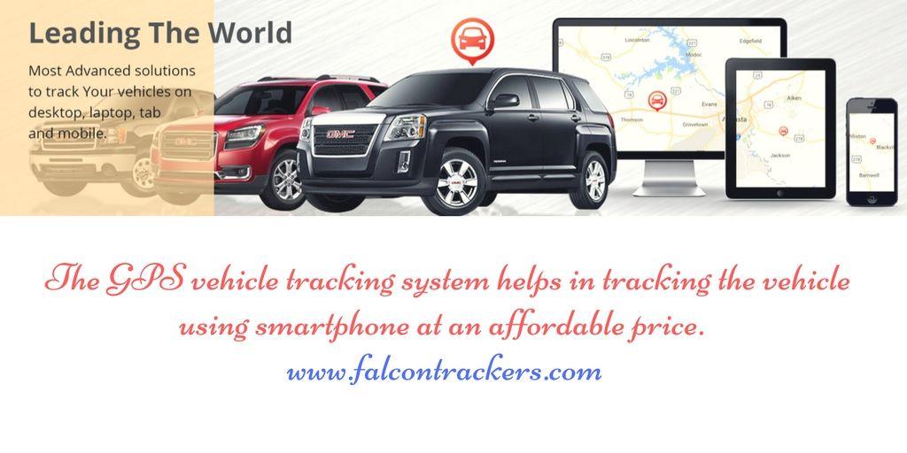 Gps Vehicle Tracking System Tracking The Vehicle Using Smartphone
