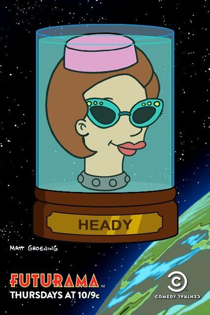 My Futurama Head Museum contribution