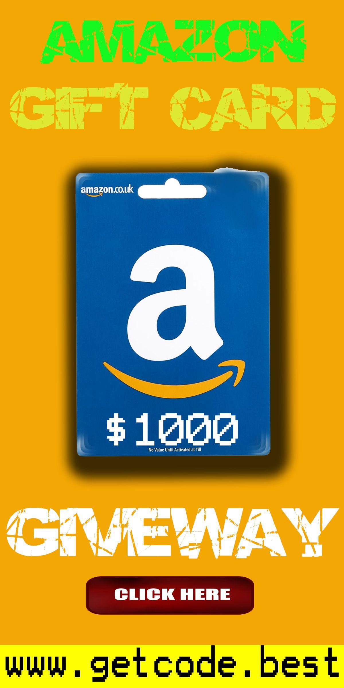 Amazon 1000 Gift Card Giveaway Amazon 1000 Gift Card Giveaway