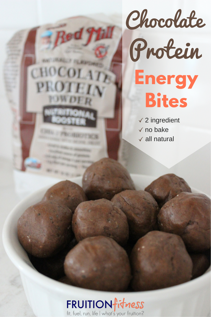 Chocolate Protein Energy Bites - Fruition Fitness