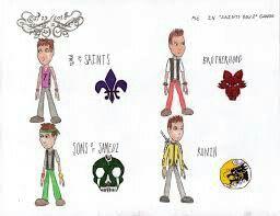 Saints Row 2 Gangs Symbols | Saints Row | Saints row, The ...