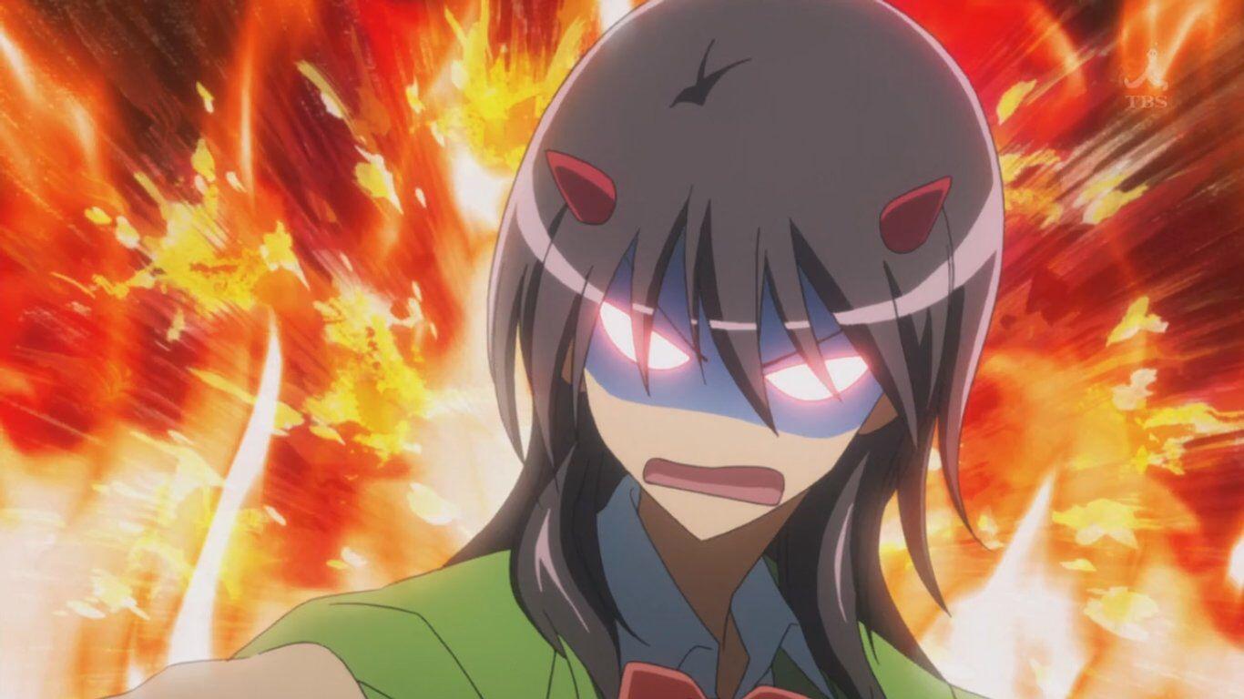 Misaki's angry face is the best. Anime, Desenhos, Desenho