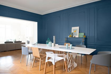 Peinture salon : 30 couleurs tendance pour repeindre le salon | Les ...