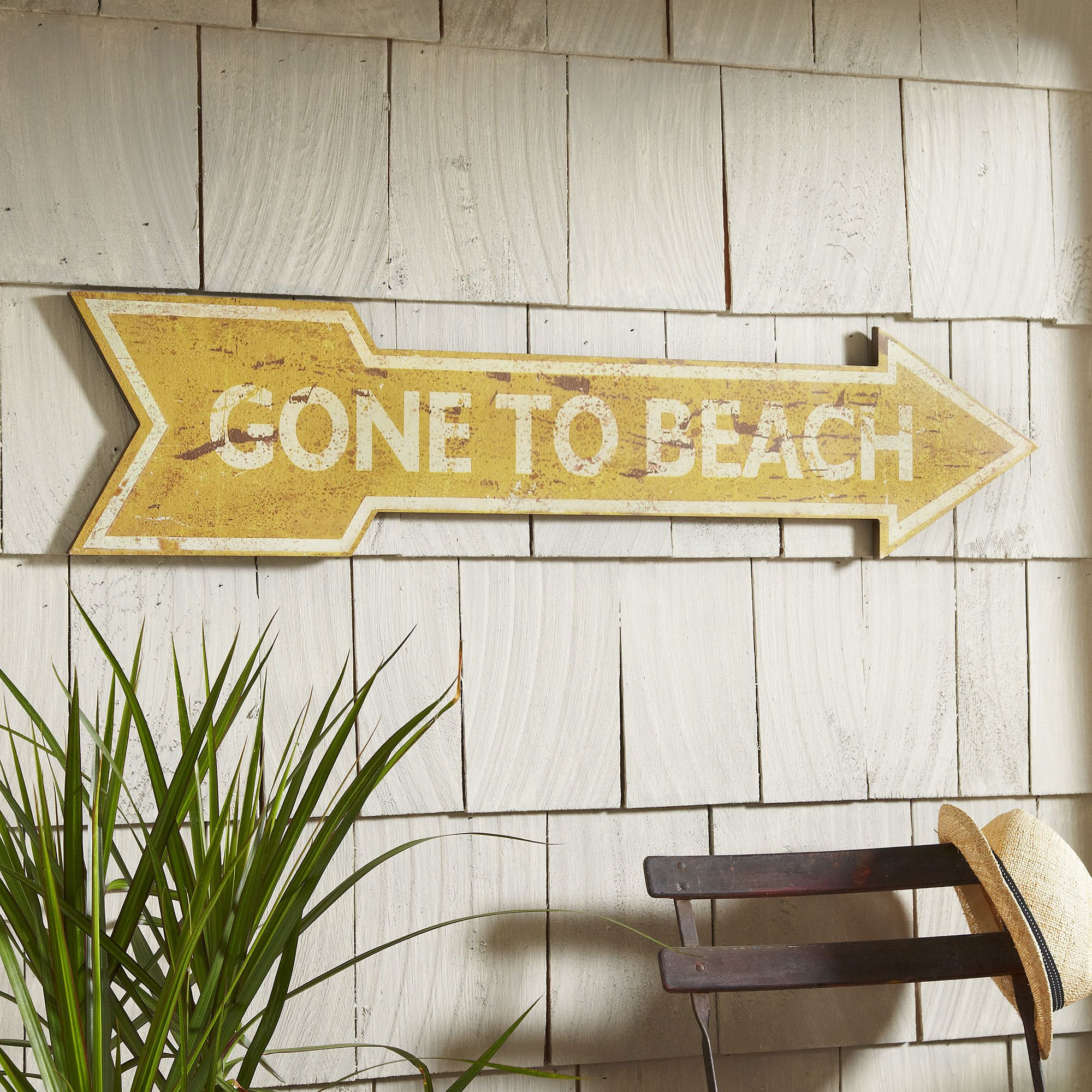 Beachbound Plaque | Let visitors know your likely whereabouts with ...