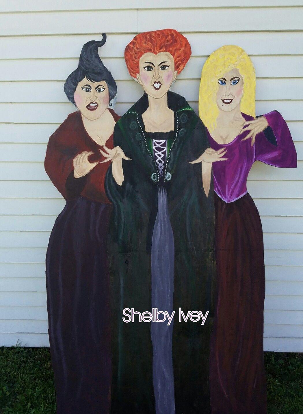 Sanderson Sisters Yard Outdoor Decoration 12.5 x 18 Inch AVOIN Halloween Hocus Pocus Garden Flag Vertical Double Sized