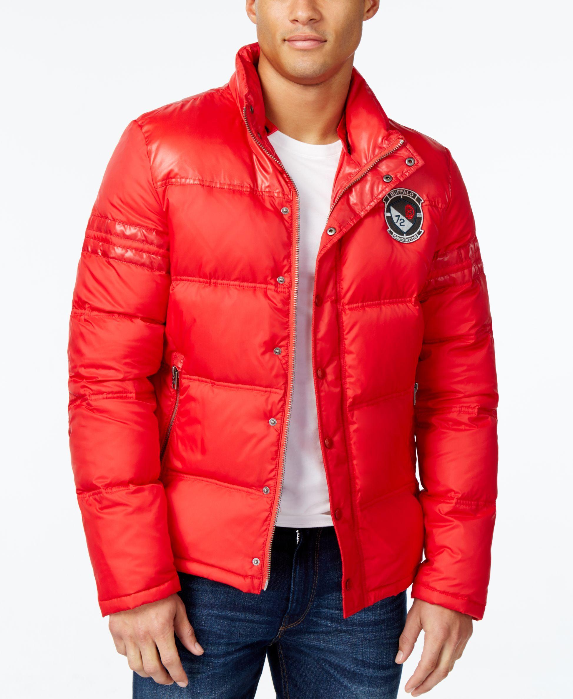 Buffalo David Bitton Men S Compact Puffer Jacket A Macy S Exclusive Style Puffer Jackets Jackets Mens Jackets [ 2378 x 1947 Pixel ]