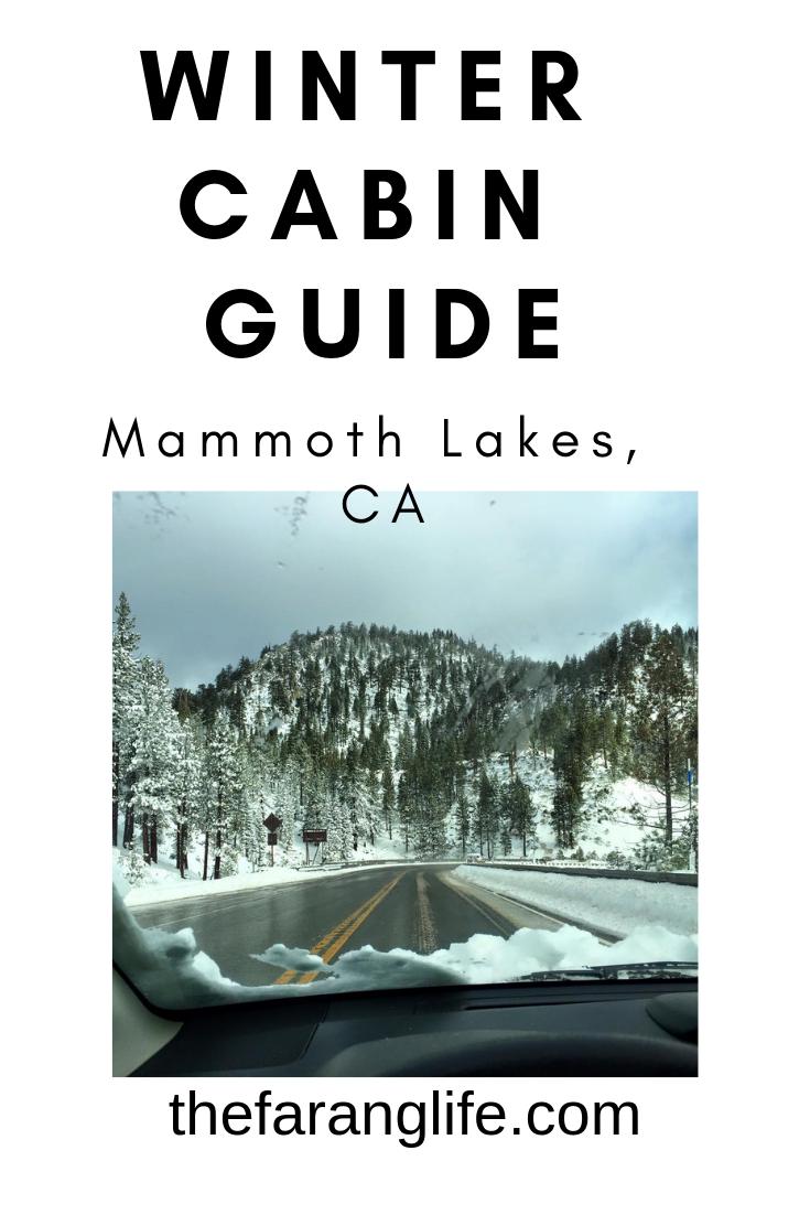 mammoth lakes ca cabins winter hiking hot springs ...