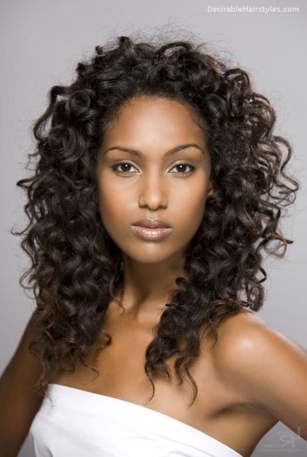 Latest 50 Long Hairstyles for Black Women Long Curly