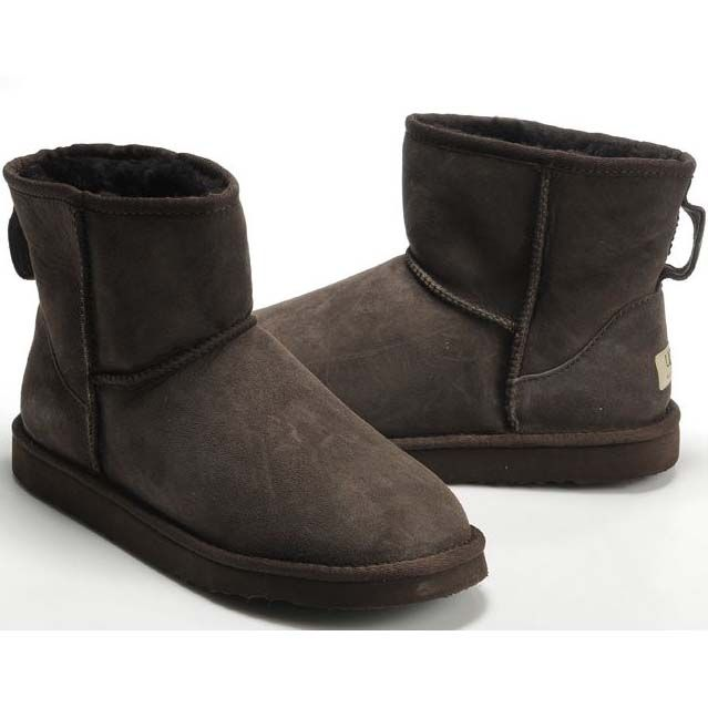 UGG Classic Mini Boots 5854 Chocolate New