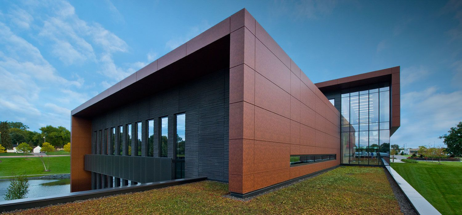 Toro Headquarters By Leo A Daly Using Alucobond Natural