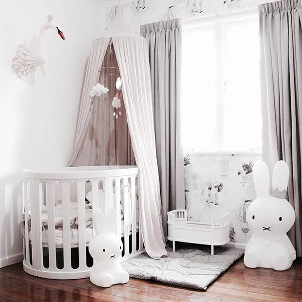 17 super cute nursery and playroom ideas stayglam mommy - Baby jungenzimmer ...