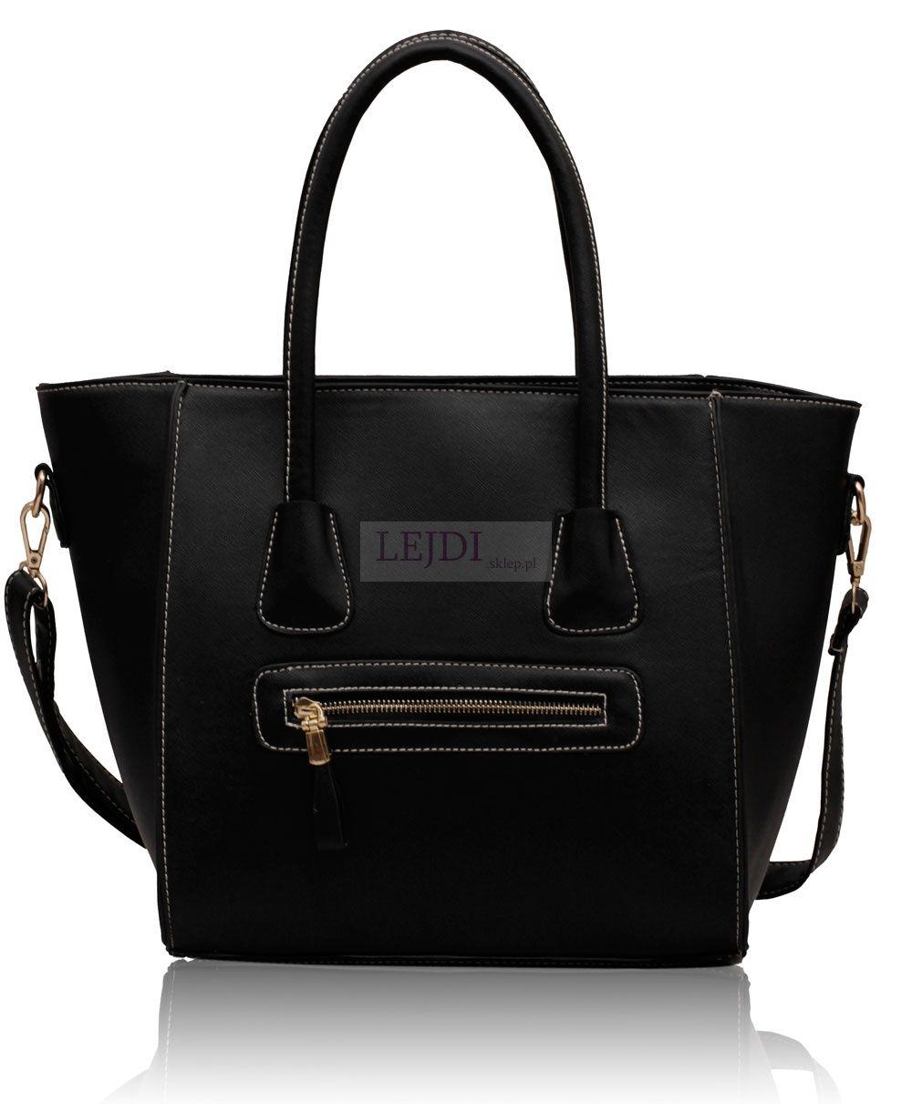 b469f16a3e37d Czarna torba w stylu Celine - Miley Cyrus