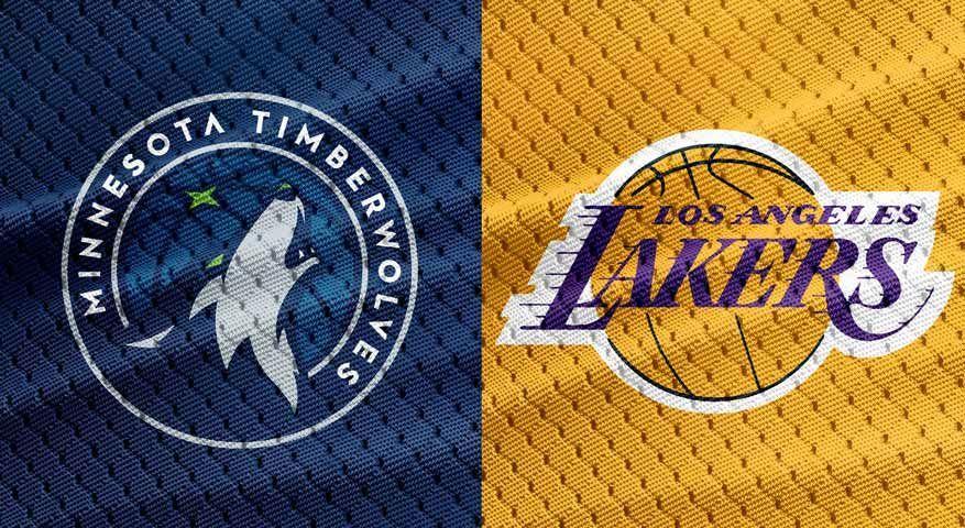 Timberwolves Vs La Lakers Nba Preview 1 1 2018 Lakers Vs Lakers Win Lakers
