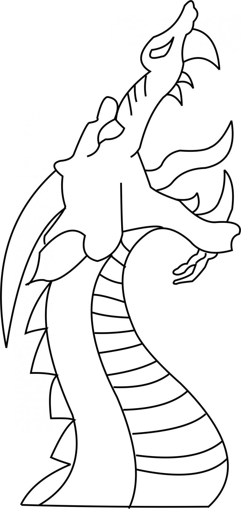 Drawing How To Draw A Cartoon Dragon For Beginners In Conjunction With How To Draw Cartoons Dragon Art Easy Dragon Drawings Dragon Head Drawing Dragon Drawing